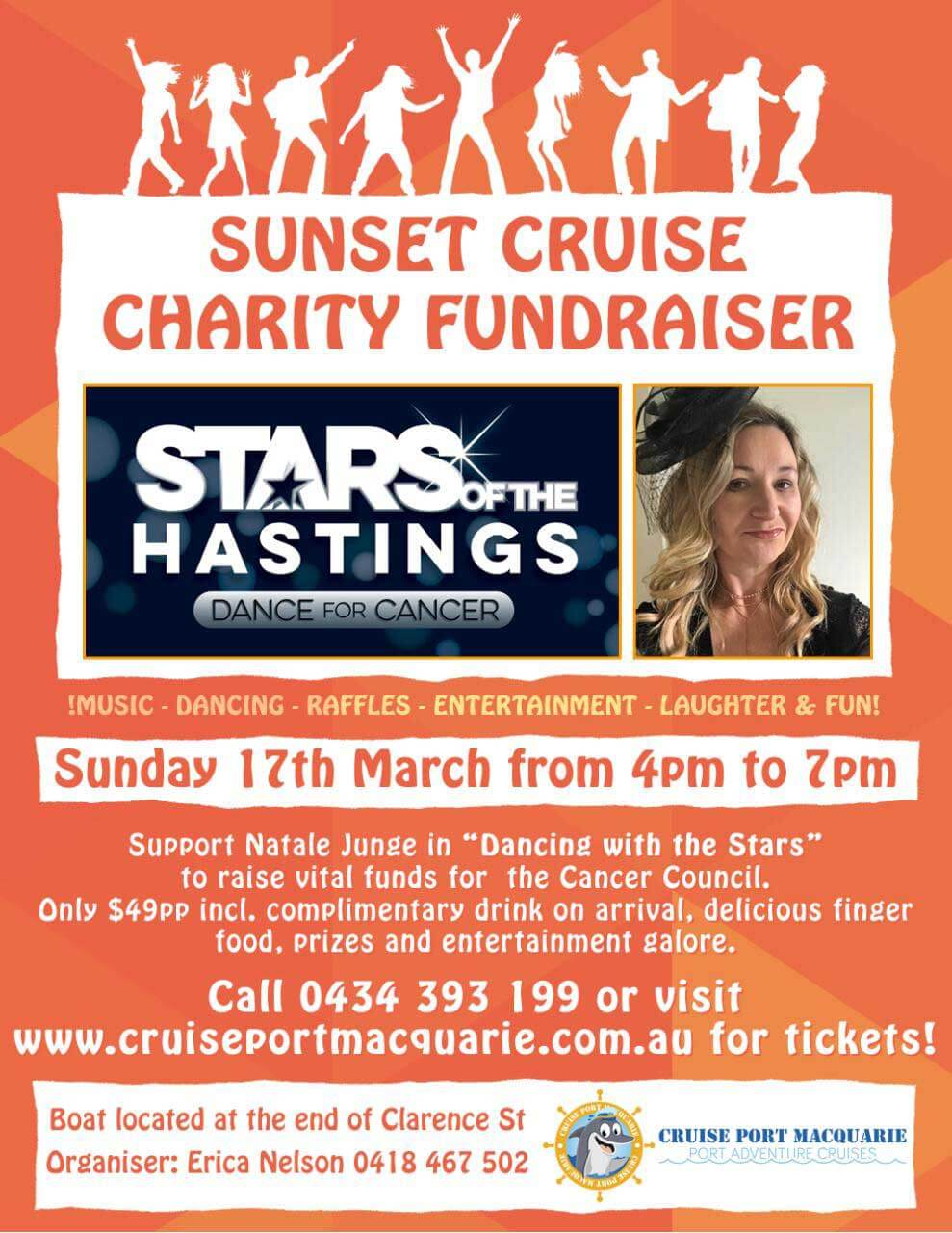 Cancer Council fundraising cruise